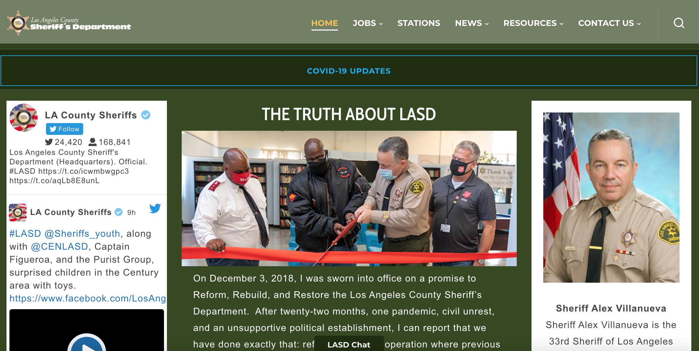 ロサンゼルス郡保安局で活用されている、指紋・掌紋の照合による本人確認
